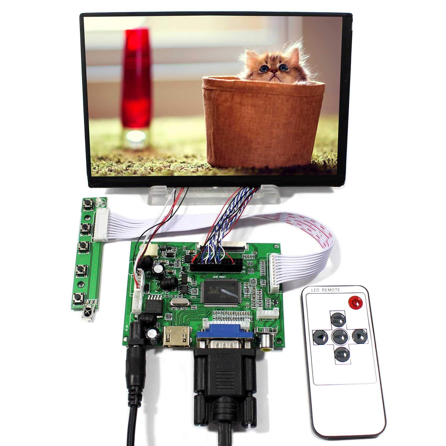 Controladora LCD HDMI VGA 7 1280x800 N070ICG-LD1
