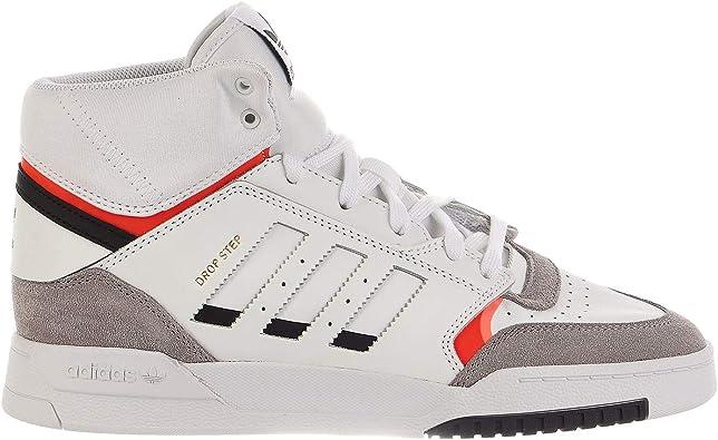 perturbación autobiografía invernadero  Amazon.com | adidas Originals Drop Step Footwear White/Light Granite/Solar  Red 12.5 D (M) | Walking