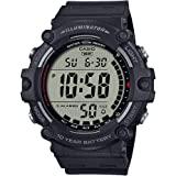 Casio Men's Quartz Resin Strap, Black, 27.63 Casual Watch (Model: AE-1500WH-1AVCF)