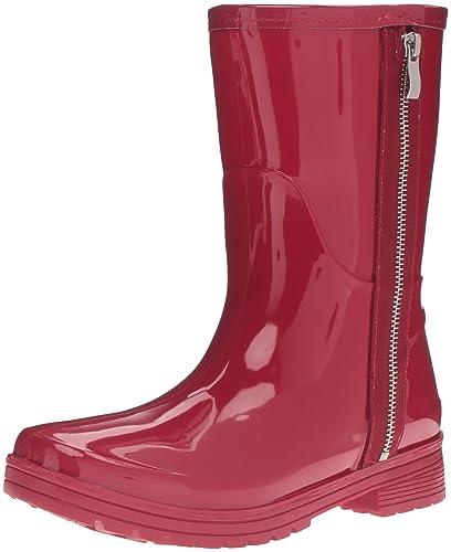Unlisted Women's Zip Rain Boot, Cherry Red, ...