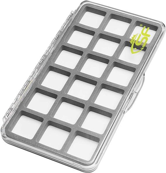 Plastic Fly Fishing Box Fishing Hook Box Slim Foam Insert Fishing Box Z7I4