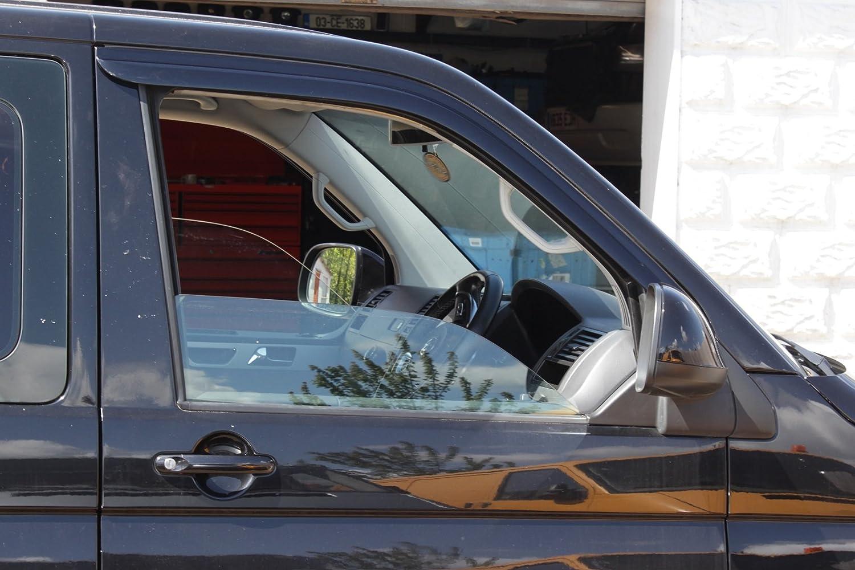 Autoclover pour Volkswagen Transporter T5//T6/D/éflecteurs dair Lot 2/pi/èces Fum/é