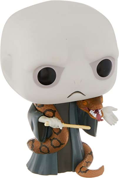 Funko Figura de Harry Potter Lord Voldemort con Nagini Pop No. 85 Vinilo 10cm