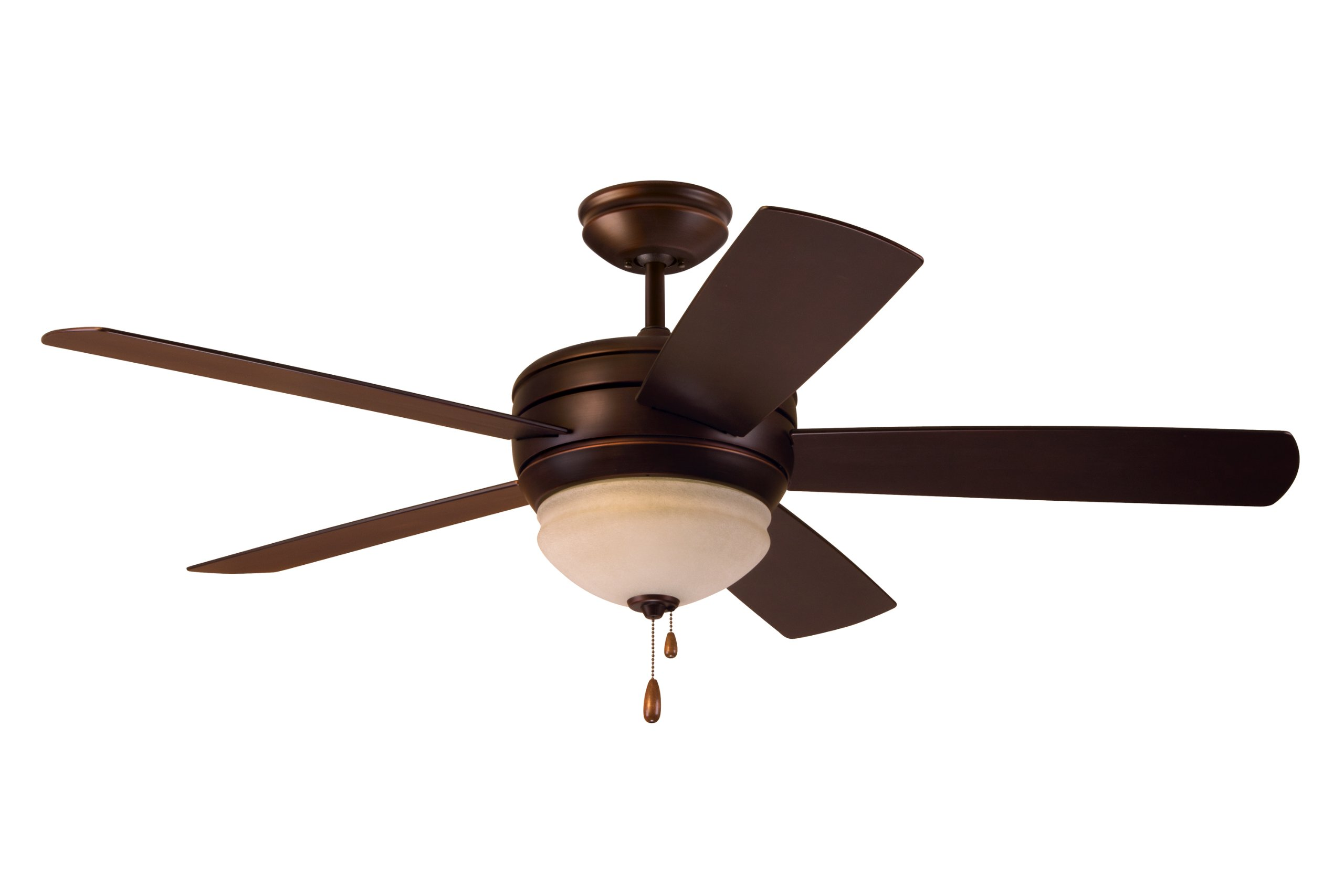 Emerson Ceiling Fans CF850VNB Summerhaven 52-Inch Indoor Outdoor Ceiling Fan with Light, Wet Rated Ceiling Fans in Venetian Bronze Finish