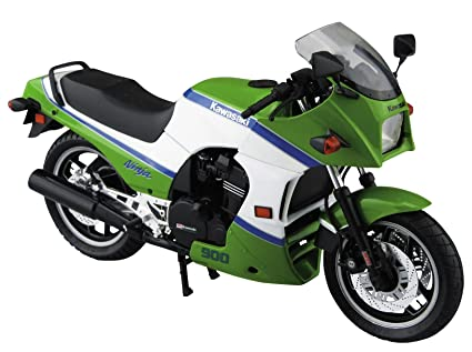 Amazon.com: Aoshima 1/12 Bike No.43 Kawasaki GPZ900R Ninja ...