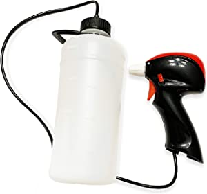 PetraTools Automatic Battery Sprayer - Easy-to-Use Sprayer with Comfortable Grip for Multi-Purpose Use - Weeding, Household Cleaning, Gardening - AA Batteries Included