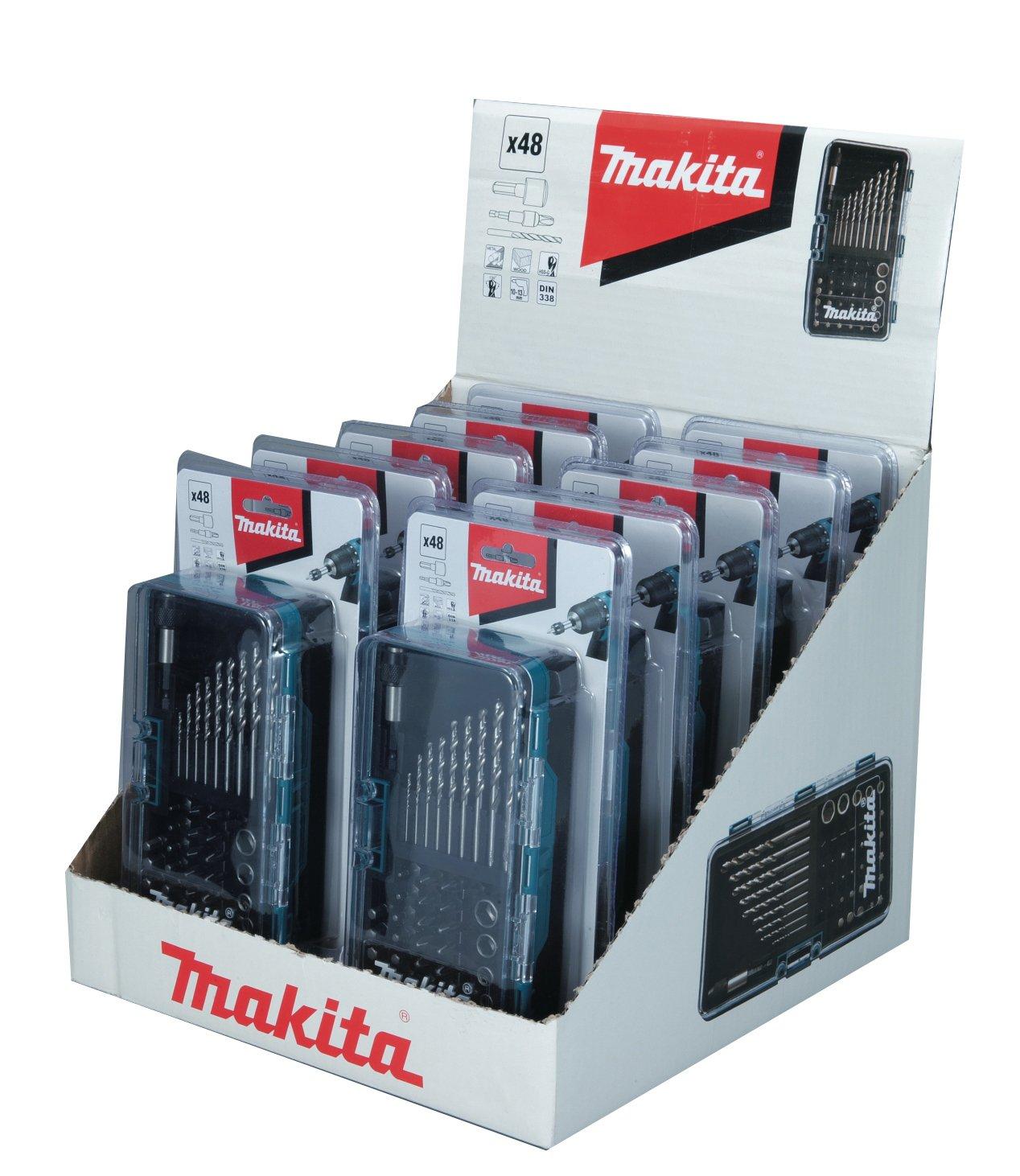 Makita Screen Bit Set Pack of 10 W 28628 10 B-28628-10