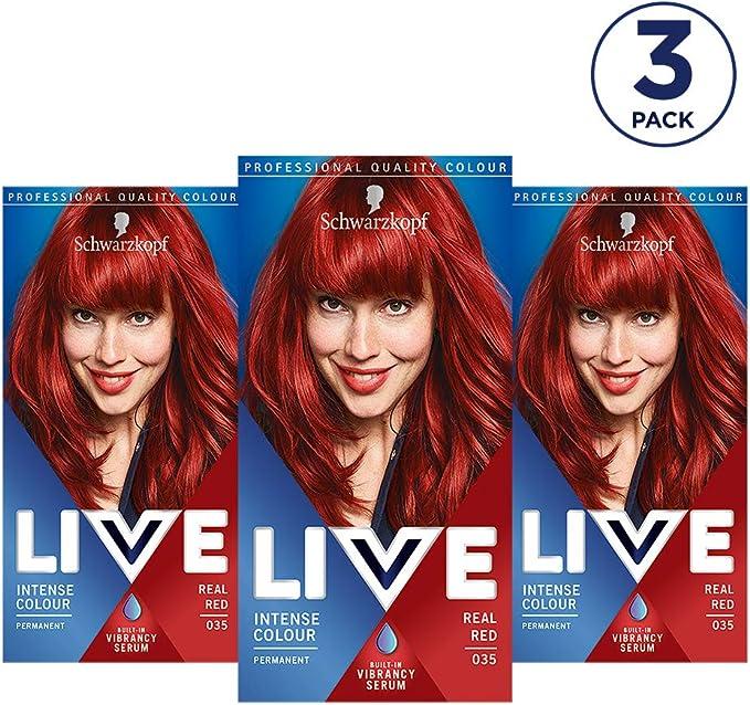 Schwarzkopf Live Colour Intense Coloration Hair Coloration ...
