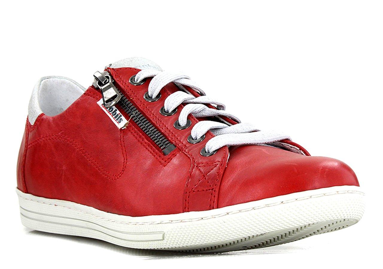Mobils - Zapatillas de Deporte de Otra Piel Mujer 36 EU|Rojo