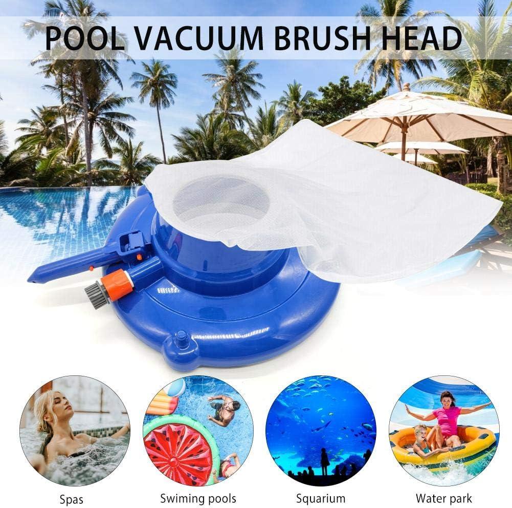 15 Leaf Gulper Vacuum Cleaner with Brushes /& Swivel Wheels|Ultra Fine Mesh Bag,Swimming Pool Leaf Vacuum for Above Ground or Inground Swimming Pool