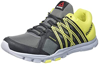 46ed3279edb2bd Reebok Men s Yourflex Train 8.0 Fitness Shoes  Amazon.co.uk  Shoes ...