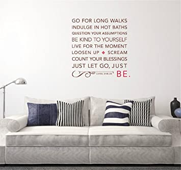 Vinyl Wall Art Quote Decor Words Decals Sticker Truly Blessed..
