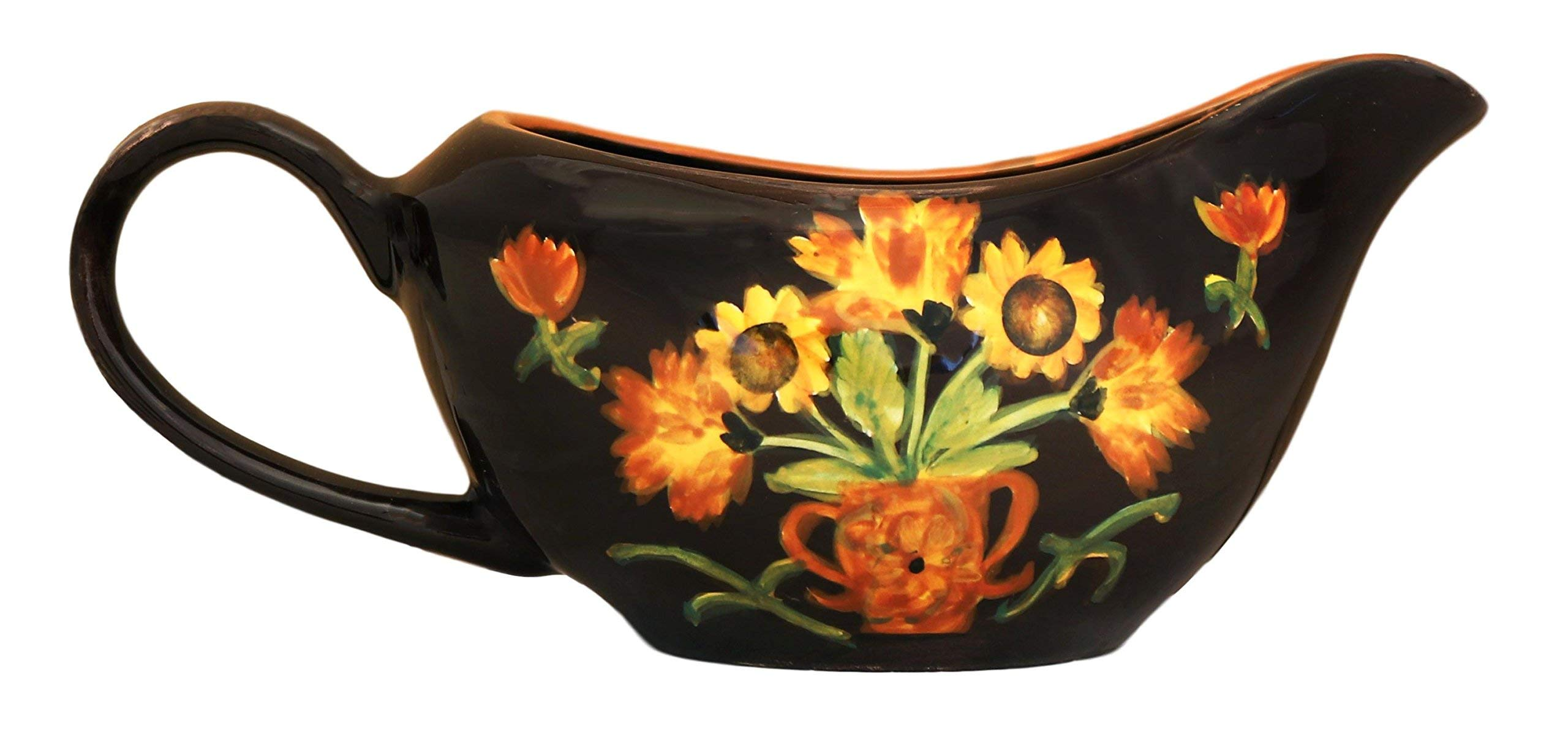 Heritage Flower, Gravy Serving Boat, 89848 by ACK