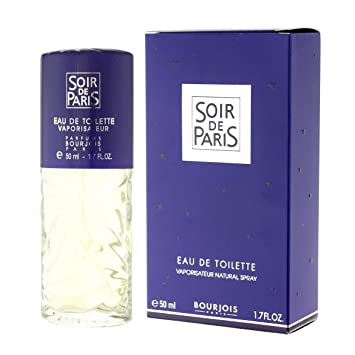 Soir De Paris Eau De Parfum Pour Femme Bourjois Vaporisateur De 50
