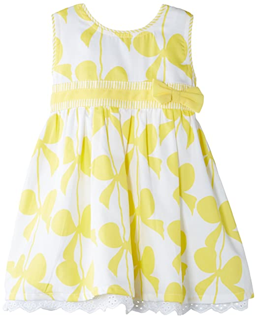 NAME IT Goline Mini Dress WL 215 - Vestido para niñas, color Amarillo, 12