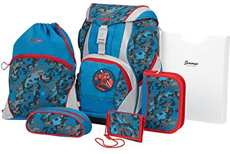 SAMMIES BY SAMSONITE Ergofit Disney escolares. Juego de 7 piezas de Marvel Spiderman 01 Marvel