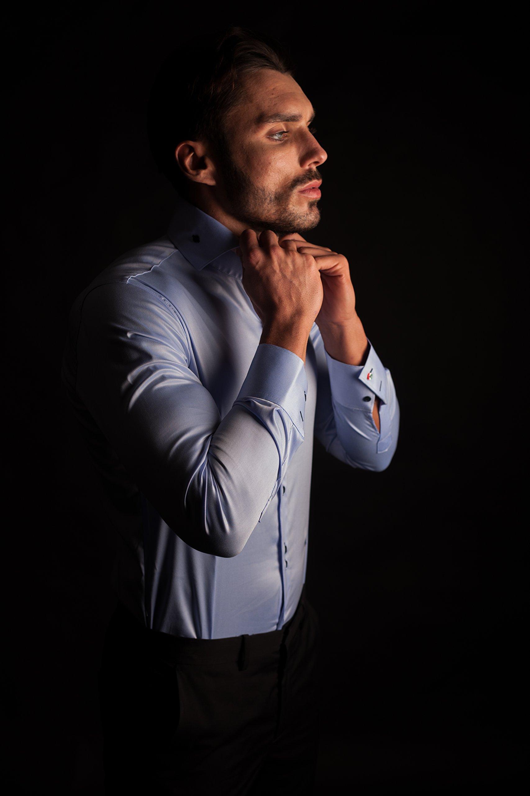 NV Holders Shirt-Holder Color Beige Size S by NV Holders (Image #5)