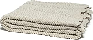 product image for in2green Pointelle with Scalloped Edge Eco Throw - Flax