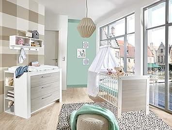 Lifestyle4living Babyzimmer Kinderzimmer Babymobel Komplett Set
