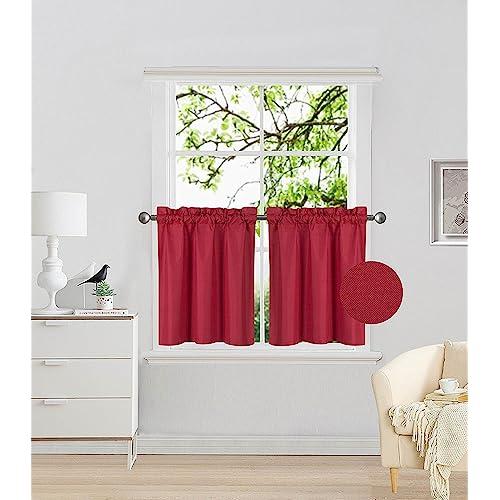 Basement Window Curtains Amazon Com