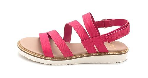 Cole Haan Womens Nicholesam Open Toe Casual Slingback Sandals Purple Size 60