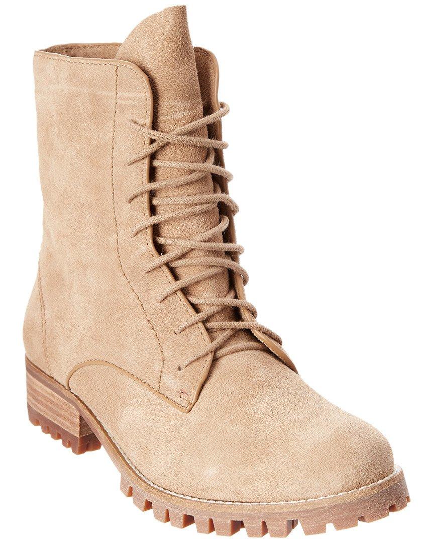 Splendid Women's Romy Combat Boot, Taupe, 8 M US