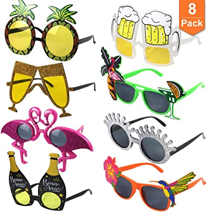 Party Bag Fillers Toys Favours Sun Glasses Pack of 18 Novelty Sunglasses