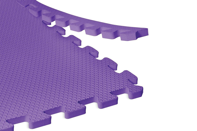Norsk Non-Toxic Solid Color Foam Mats EVA Foam Interlocking Tiles