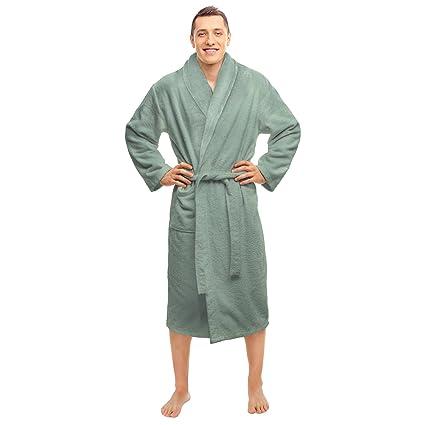 01265d4e50 Amazon.com  Blue Nile Mills Hotel   Spa Sage Robe
