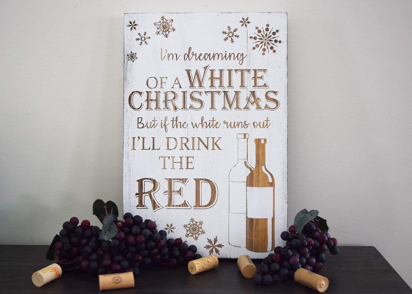 Amazon.com: Im Dreaming of a White Christmas But if The White Runs ...
