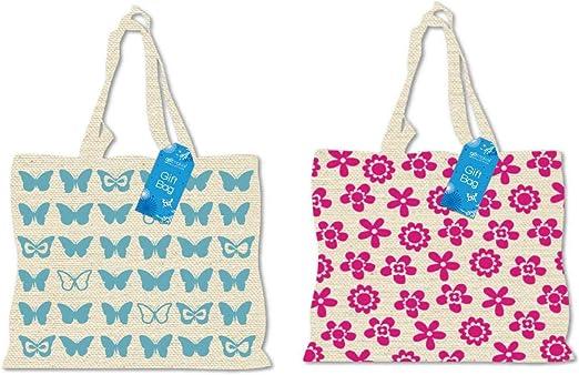 Calico - Bolsa de la compra reutilizable de algodón, diseño de ...