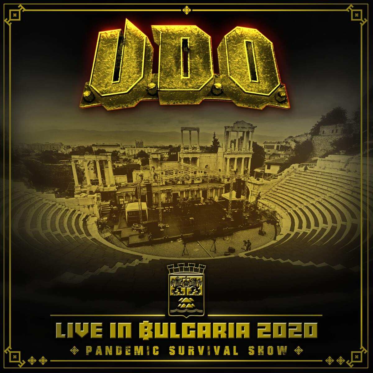 Live in Bulgaria 2020 Pandemic Survival Show BluRay /& 2 CD