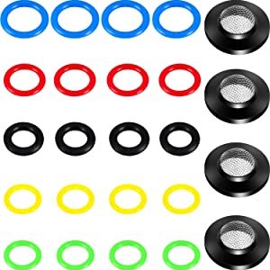 24 Pack O-Ring Power Pressure Washer Kit 6 Sizes for Power Pressure Washers, Pump, Hose, Gun, Wand and Lance