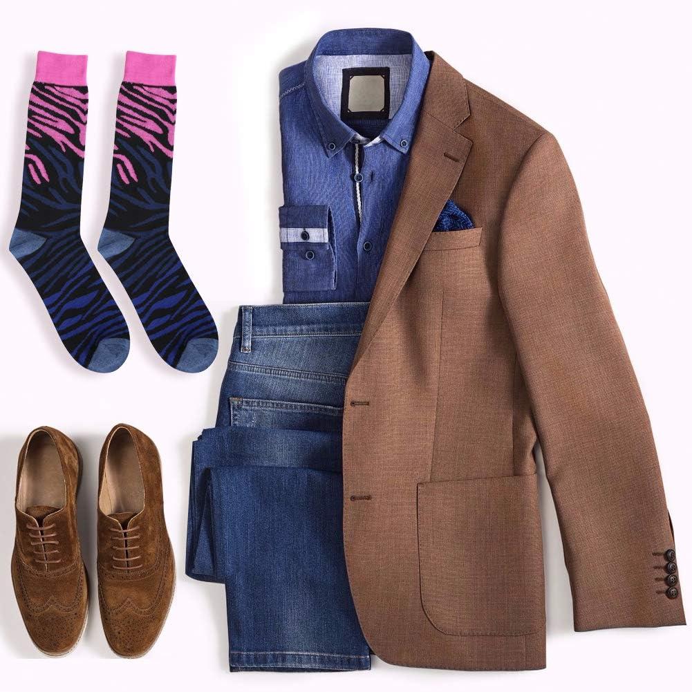 Mens Womens Business Mid Calf Colorful Fun Casual Slipper Wedding Socks 6//12 Pairs Diwollsam Crew Fashion Dress Socks