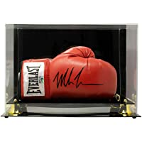 $379 » Mike Tyson Signed Right Red Everlast Boxing Glove w/Case JSA ITP - Autographed Boxing Gloves
