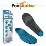 FootActive CONFORT semelles – Pour les douleurs au niveau du talon, l'épine calcanéenne, la fasciite plantaire, les douleurs du genou et le mal au dos – Des semelles de superbe qualité!