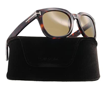 67a81c65a4d Amazon.com  Tom Ford TF 198 Havana 56J Campbell Sunglasses  Tom Ford ...
