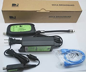 DIRECTV Receiver DECA Broadband DCA2PR1-01 Connected Home Adapter ON Demand Cinema INTERNET over COAXIAL