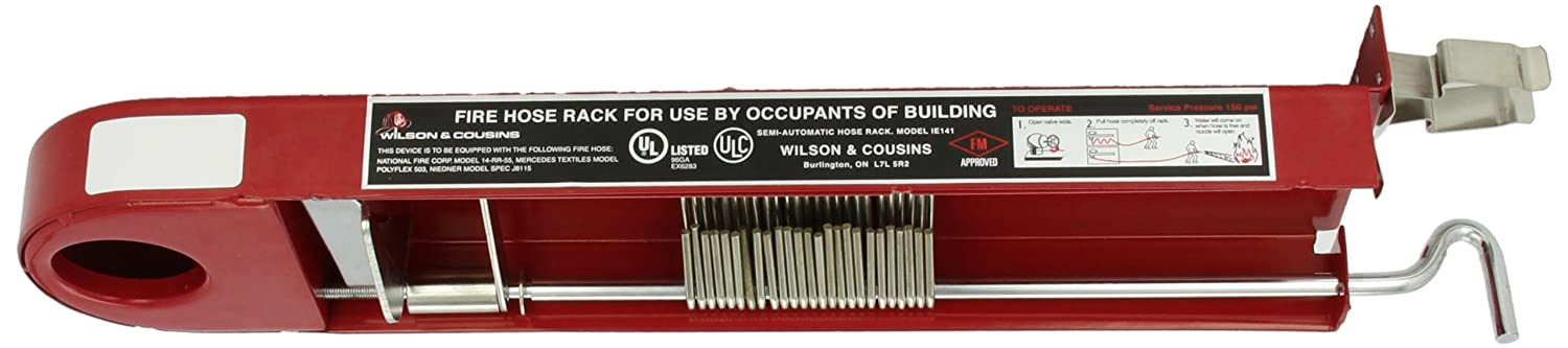 Moon 142-15 Steel Pin Rack, for 1-1/2' x 100' Hose for 1-1/2 x 100' Hose Moon American