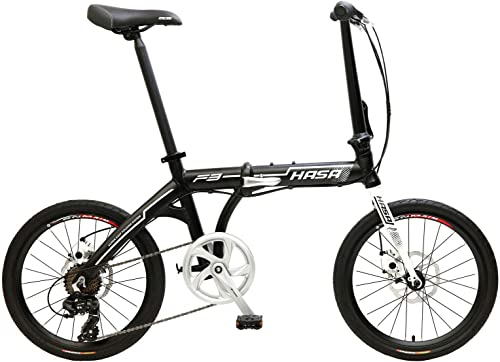 HASA Folding Foldable Bike Bicycle Compatible with Shimano 7 Speed