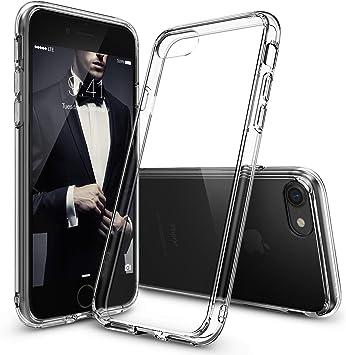 Ringke Funda iPhone 8, Funda iPhone 7 [Fusion] Transparente al Dorso del PC y Frente al TPU [Tecnologia para Proteccion a la Caida] Protectiva con Armadura Mejorada: Amazon.es: Electrónica