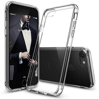 Ringke Funda iPhone 8, Funda iPhone 7 [Fusion] Transparente al Dorso del PC y Frente al TPU [Tecnologia para Proteccion a la Caida] Protectiva con ...