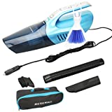 Amazon Price History for:Reserwa Car Vacuum 12V 80W Wet Dry Car Vacuum Cleaner 2 in 1 Portable Car Vaccum Handheld Vacuum Car 14.7FT(4.5M) Power Cord with LED Light One Carry Bag and One Cleaning Brush (Blue)