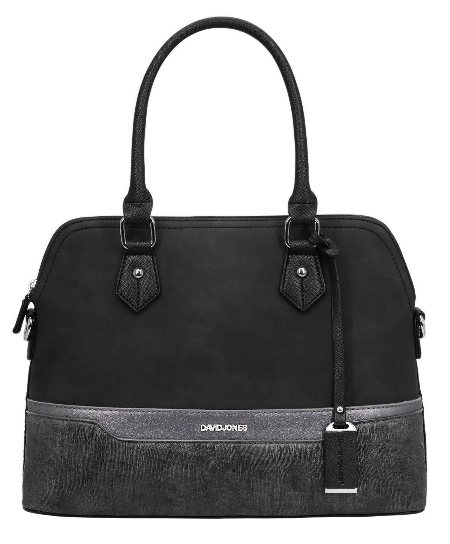7cb6361e2bb5f David Jones - Damen Handtasche - Bugatti Tasche - Nubuk Paillette Saffiano  Leder - Multicolor Frau
