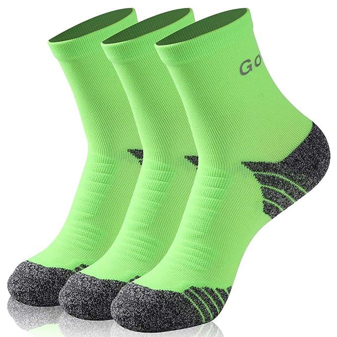 Amazon.com: No Show Athletic Socks, Gotops Unisex COOLMAX ...