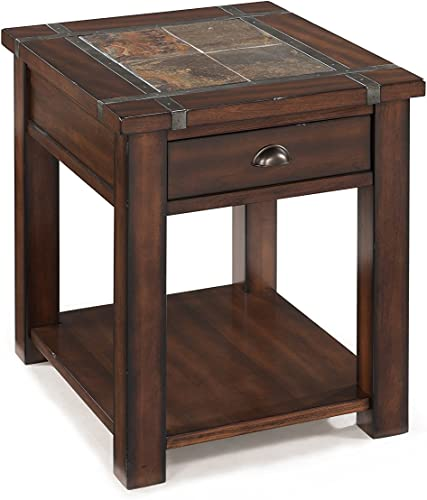 Magnussen T2615 Roanoke Rectangular End Table