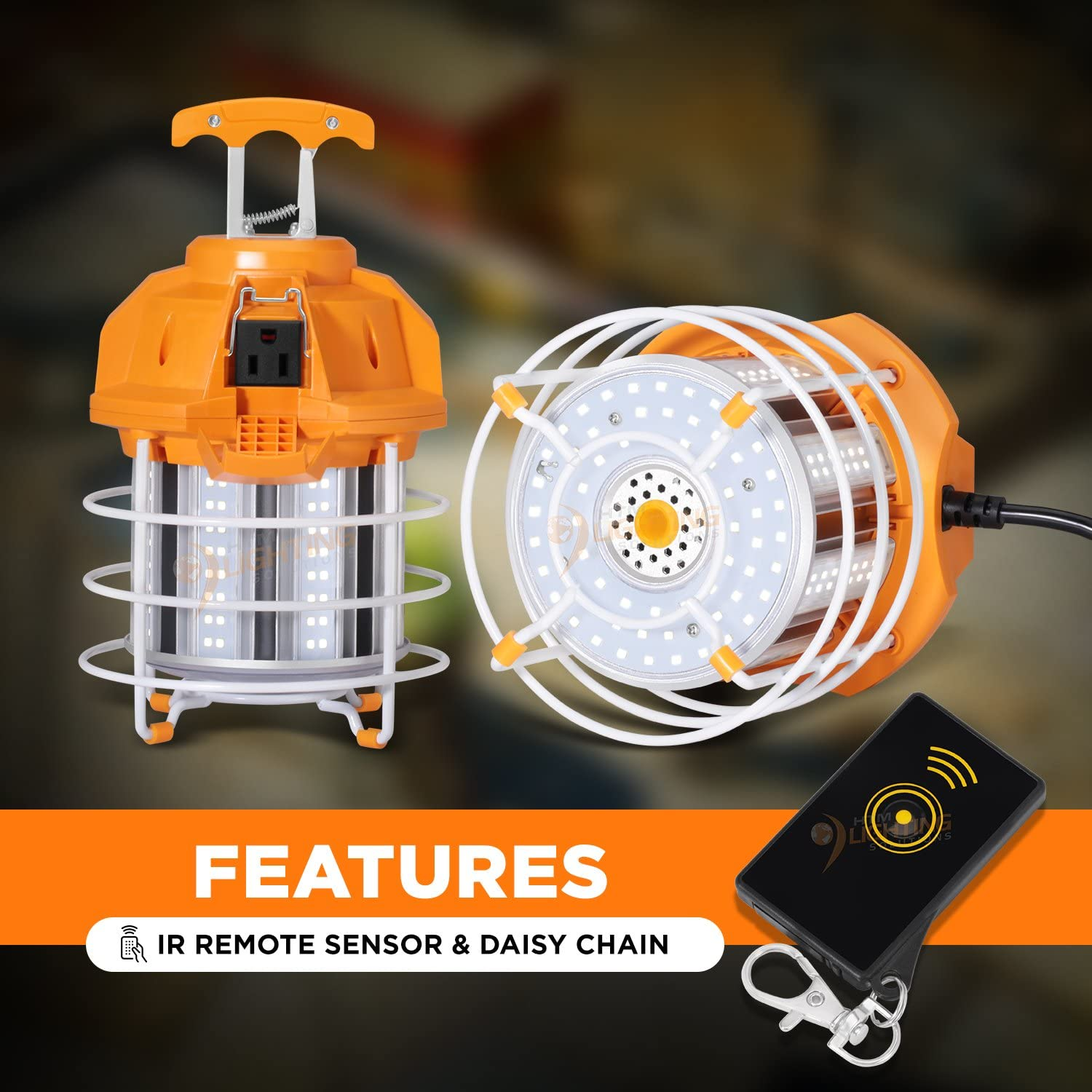 60w Portable Led Drop Light For 250w Mh Hps Replacement