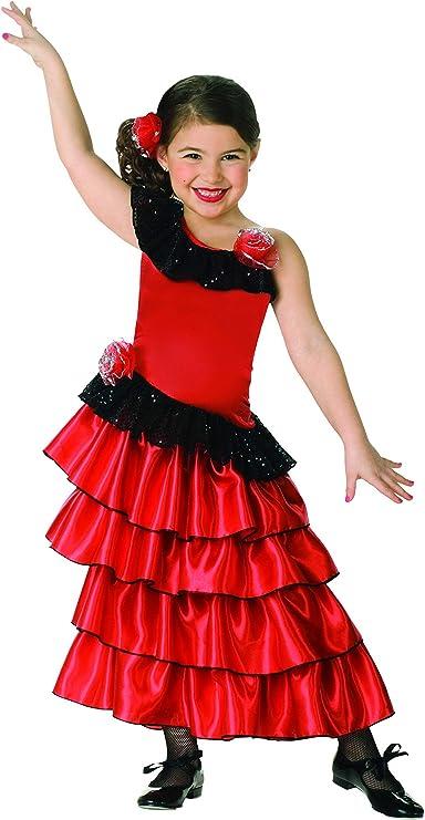 Fan Lace Red Spanish Senorita Childs Adults Fancy Dress Accessory