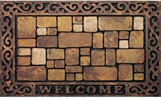 product image for Apache Mills 60-732-1449-18x30 Masterpiece Aberdeen Welcome Door Mat, 18-Inch by 30-Inch (Limited Edition)
