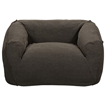 H.D. Buttercup Petra Sofa Chair, SUPER COZY Minimalist Armchair, Modern  Furniture, Dark Jute